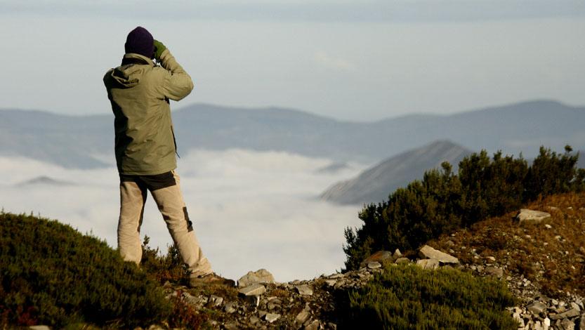 Una de las principales actividades del GECA es el campeo, el salir al monte muy frecuentemente para estudiar la fauna y sus problemas de conservación.