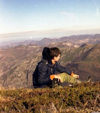 Recorriendo nuestras montañas, en 1985
