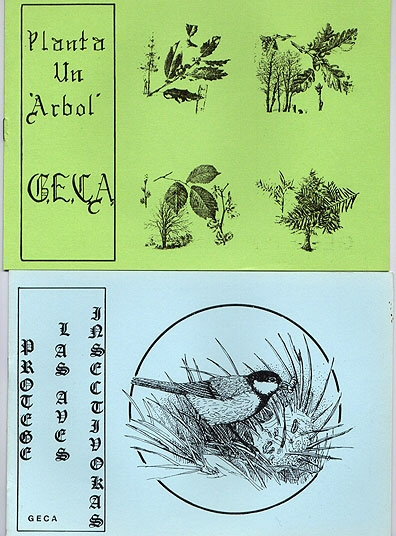 Cuadernillos para campañas de educación ambiental 1988