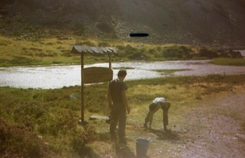 Limpieza y señalización Laguna de Arbas sept-87
