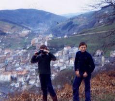 Jose Manuel y Pedro Uría, 1982
