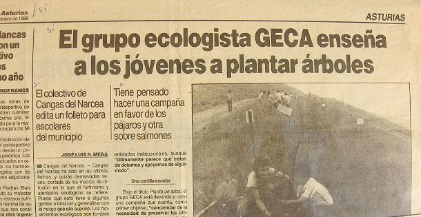 Ya desde nuestros inicios nos dedicamos a la educación ambiental