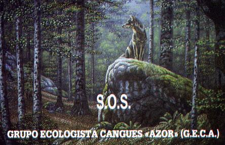 Quizá la pegatina del GECA más bonita que hemos hecho. 1988