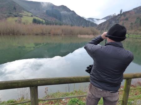 Censando las aves acuáticas invernantes. Enero 2016