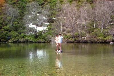 En las lagunas de Rabo de Asno 1986