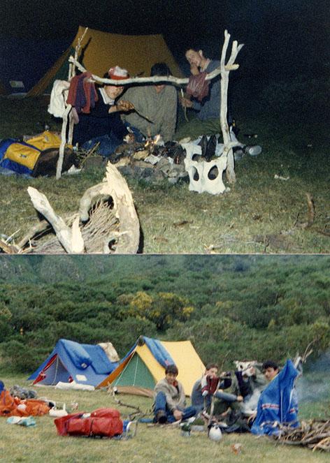 Conociendo los montes de Cangas y Somiedo en un recorrido de 10 días en el verano de 1985
